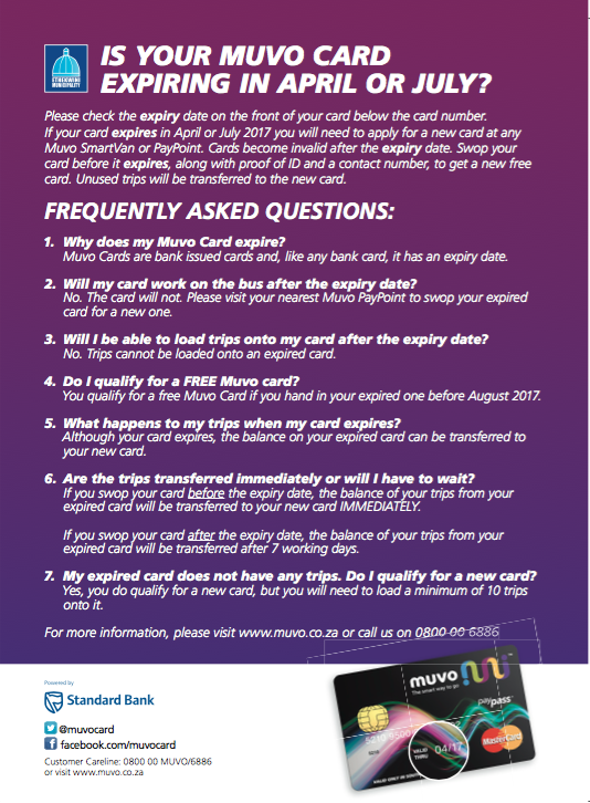 FAQs Card Expiry